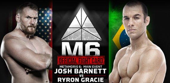 Chael Sonnen vs. 'Babalu,' Josh Barnett vs. Ryron Gracie ...