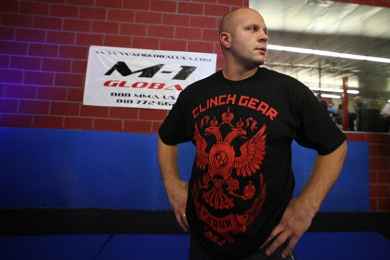 Fedor Emelianenko interview after beating Randy Couture at ...