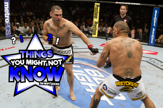 5 Things You Might Not Know About Cain Velasquez