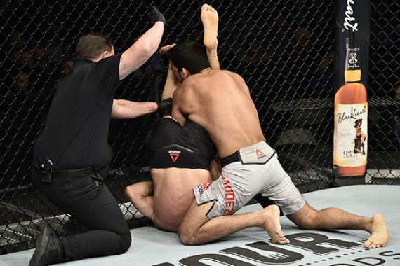 UFC on ESPN 6 Prelims: Charles Rosa Armbar Submits Manny Bermudez in Boston