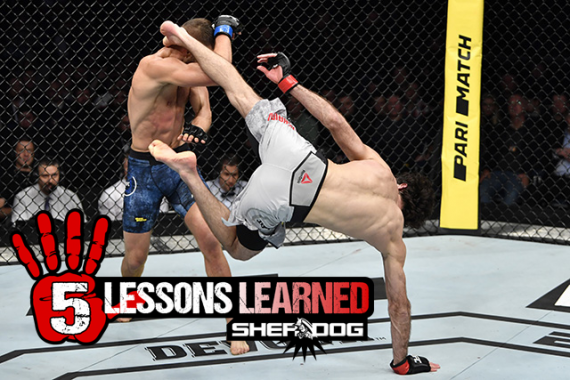 5 Lessons Learned from UFC Fight Night 163