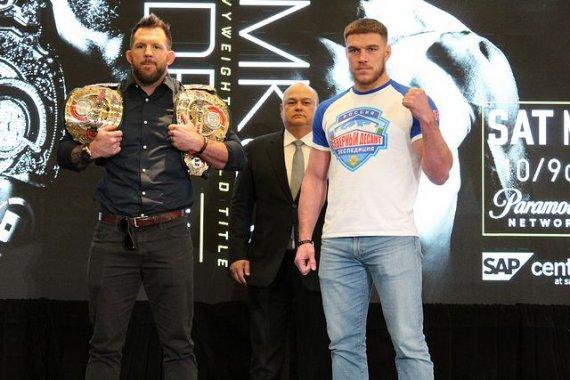 Ryan Bader to Defend Light Heavyweight Belt vs. Vadim Nemkov at Bellator 244