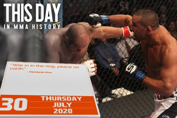 This Day in MMA History: July 30