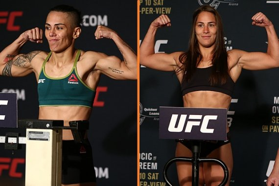 Jessica Andrade Moves to Flyweight to Take on Jessica Eye at Oct. 17 UFC Card
