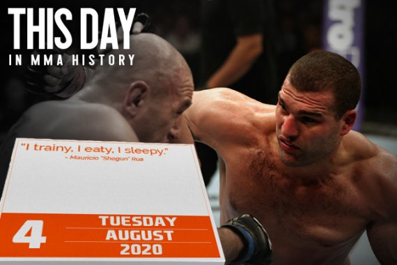 This Day in MMA History: August 4