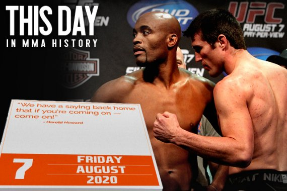 This Day in MMA History: August 7