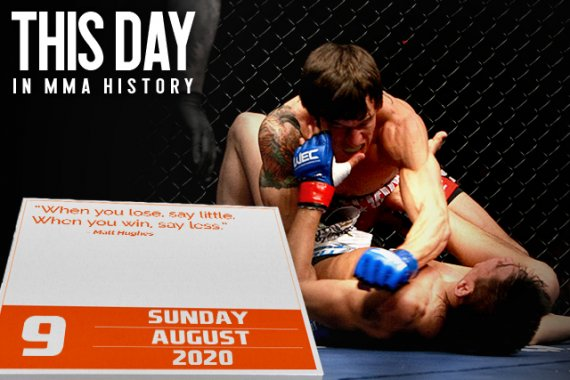 This Day in MMA History: August 9