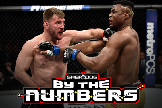 By The Numbers: Stipe Miocic vs. Francis Ngannou