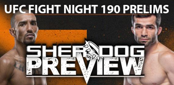 Preview: UFC Fight Night 190 Prelims - Barcelos vs. Valiev