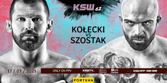 Watch KSW 62: Kolecki vs Szostak 7/17/21