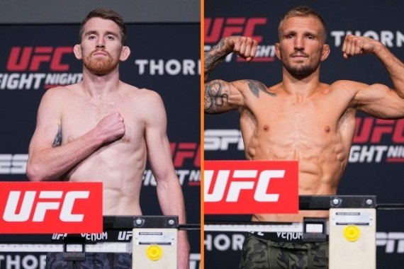 Main event set, all fighters gain weight – MMA Sports
