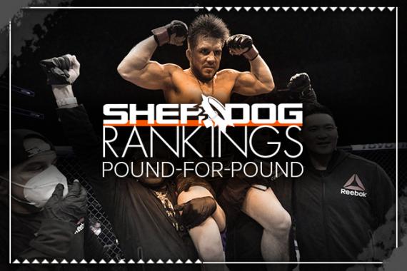 Sherdog's Pound-for-Pound Top 10 Rankings