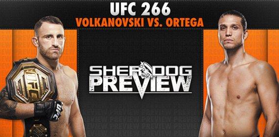 Preview: UFC 266 'Volkanovski vs. Ortega' - Volkanovski vs. Ortega