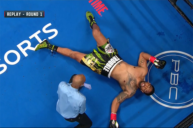 Deontay Wilder Obliterates Dominic Breazeale In First Round With One Punch Knockout