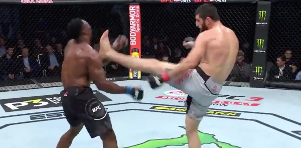Image result for magomed ankalaev front kick