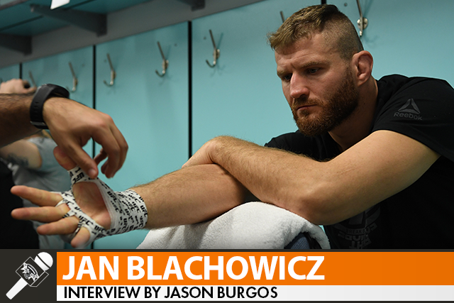 Jan Blachowicz Wants Jon Jones but Expects to Meet Thiago Santos in First Title Defense