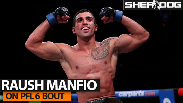 Raush Manfio Promises Knockout of Anthony Pettis at PFL 6